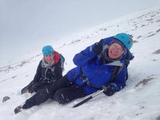 8 Busy and snowy half term #winterskills #ski touring # climbing # courses #introduction #cairngorms #scotland
