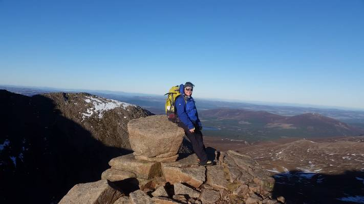 2 Alpine conditions #winterskills #winter mountaineering #climbing #cairngorms