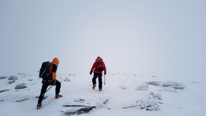 4 Happy New Year! (Winter Climbing Cairngorms & Avalanche Training)