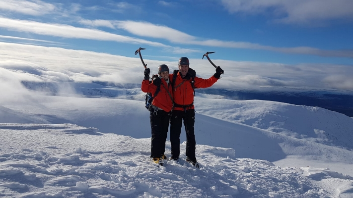 9 Winter draws to a close #winterskills #skitouring #scottishskitouring