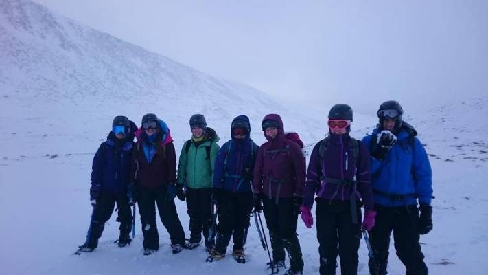 6 Busy and snowy half term #winterskills #ski touring # climbing # courses #introduction #cairngorms #scotland