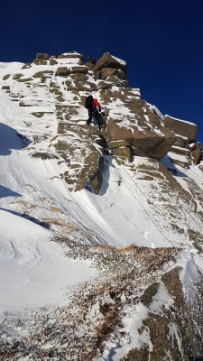 3 Good conditions for walking, skiing and climbing #winterskills #skitouring #winterclimbing