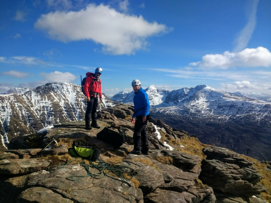 3 The end of a great winter season #winterskills #winterclimbing #skitouring #cairngorms
