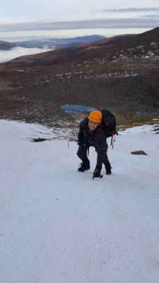 6 Mixed early January conditions #winter #mountaineering #climbing #cairngorms