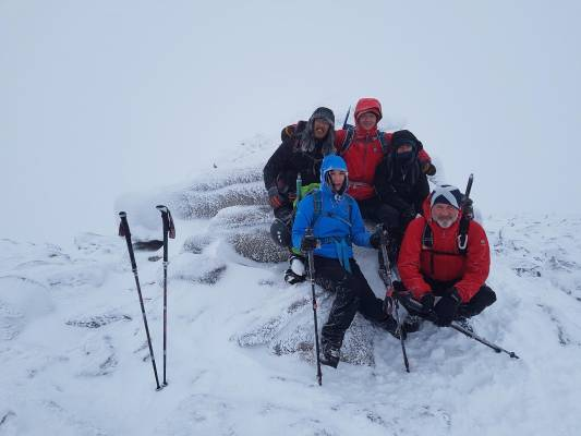 5 Winter makes a return #winterskills #ski touring #cairngorms