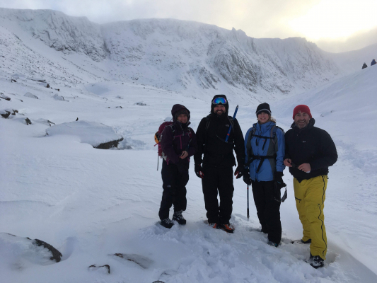 1 Blue Skies and Sunshine (winter skills & winter mountaineers)