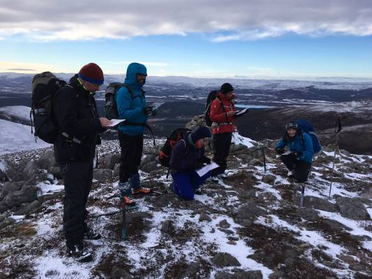 9 Great conditions in the 'Gorms (at last) #winterskills #ski touring #climbing #courses #introduction #cairngorms #Scotland