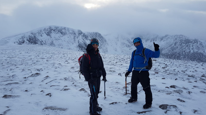 5 The last of 2018! #winterskills #wintermountaineering #winterclimbing #cairngorms