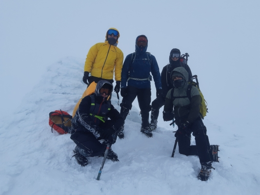 5 Winter draws to a close #winterskills #skitouring #scottishskitouring