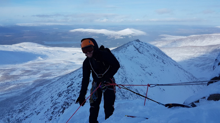 5 Lots of snow in the Cairngorms #winterskills #skitouring #wintermountaineering #winterclimbing