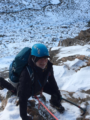 7 Great conditions for this week's winter skills & winter mountaineering courses