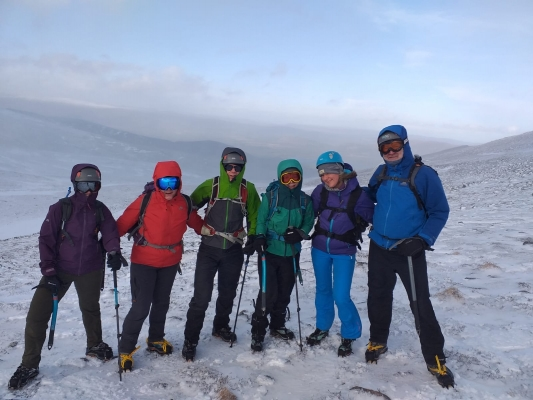 7 Winter arrives just in time #winterskills #winterclimbing #skitouring