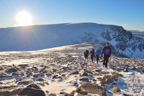1 Winter returns to the Cairngorms (phew!) #winterskills #cairngorms