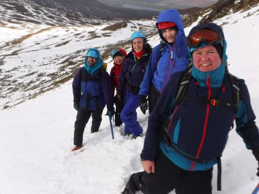 7 Great conditions in the 'Gorms (at last) #winterskills #ski touring #climbing #courses #introduction #cairngorms #Scotland