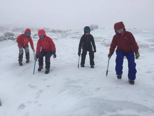 3 Winter makes a return #winterskills #ski touring #cairngorms