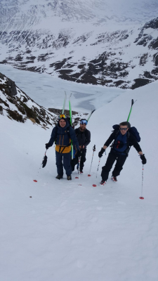3 Turning very cold..... #winterskills #skitouring #winterclimbing #wintermountaineering