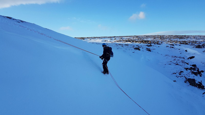 3 Great conditions for this week's winter skills & winter mountaineering courses