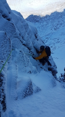 4 Winter draws to a close #winterskills #skitouring #scottishskitouring