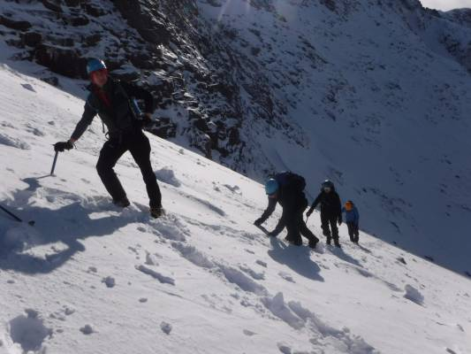 0 Great conditions in the 'Gorms (at last) #winterskills #ski touring #climbing #courses #introduction #cairngorms #Scotland