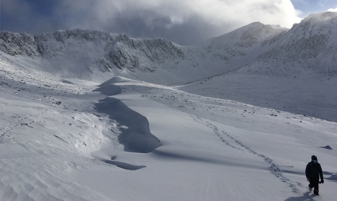11 Winter draws to a close #winterskills #skitouring #scottishskitouring