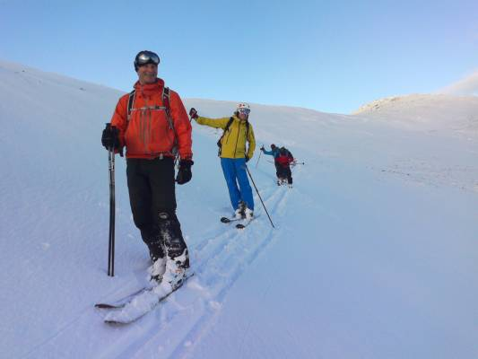 4 Winter makes a return #winterskills #ski touring #cairngorms
