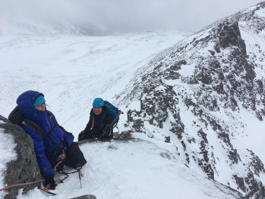 2 Right, that's it, it's over.... #winterskills #skitouring #winterclimbing #rockclimbing #cairngorms #scotland