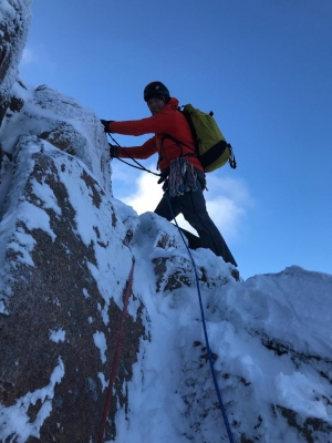6 Good conditions for walking, skiing and climbing #winterskills #skitouring #winterclimbing