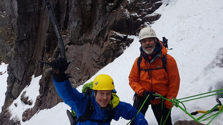 6 Wintry conditions in the Cairngorms #winterskills #winterclimbing #wintermountaineering