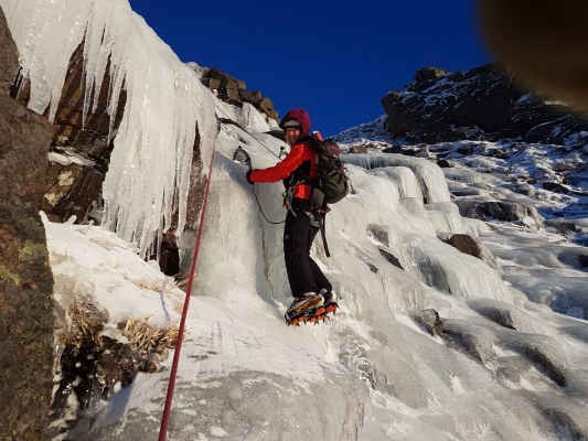 7 Good conditions for walking, skiing and climbing #winterskills #skitouring #winterclimbing