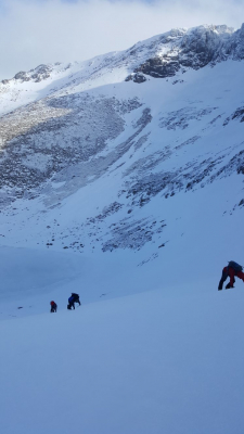 10 Turning very cold..... #winterskills #skitouring #winterclimbing #wintermountaineering