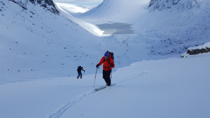 3 Great winter conditions continue #winterskills #wintermountaineering #skitouring #cairngorms #scotland