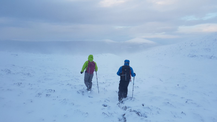 7 Happy New Year! (Winter Climbing Cairngorms & Avalanche Training)