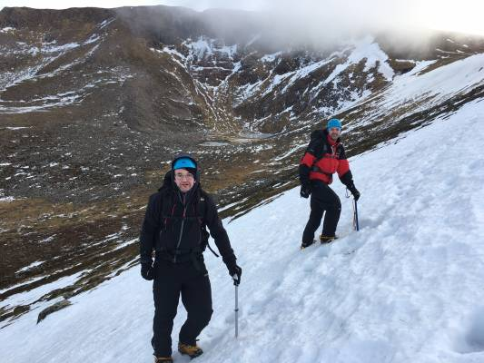 4 Alpine conditions #winterskills #winter mountaineering #climbing #cairngorms