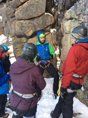 0 Great conditions for this week's winter skills & winter mountaineering courses