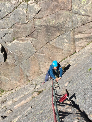 0 Rock climbing, film safety & broken arms in the Cairngorms