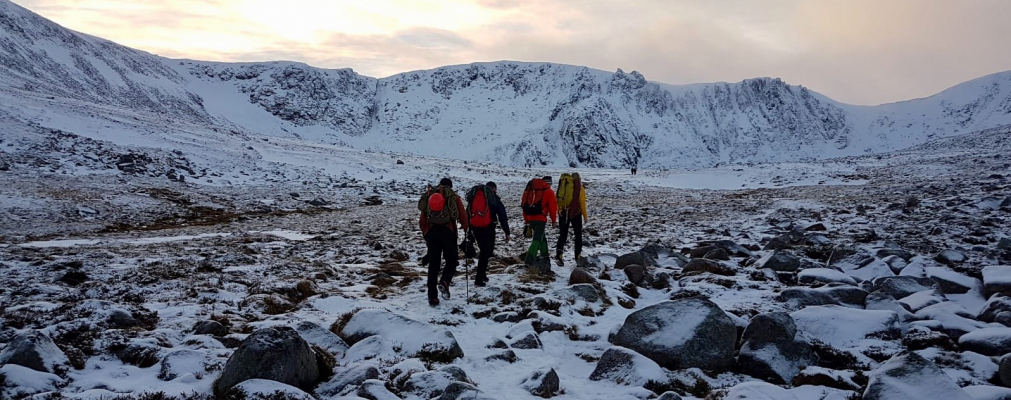 0 The last of 2018! #winterskills #wintermountaineering #winterclimbing #cairngorms