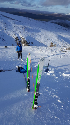 6 Turning very cold..... #winterskills #skitouring #winterclimbing #wintermountaineering