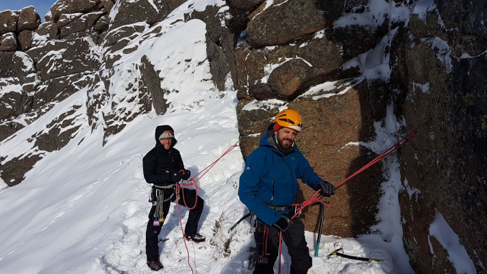 7 Lots of snow in the Cairngorms #winterskills #skitouring #wintermountaineering #winterclimbing