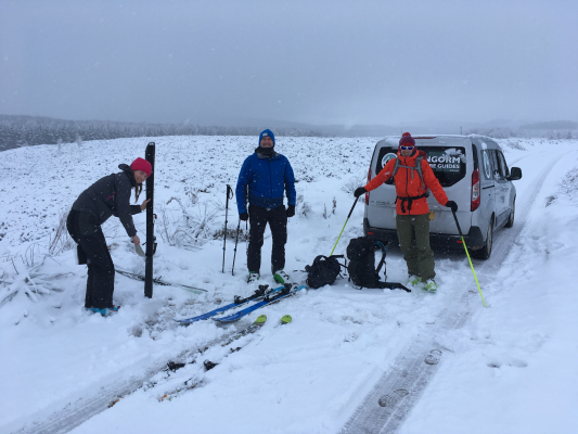 10 Lots of snow in the Cairngorms #winterskills #skitouring #wintermountaineering #winterclimbing