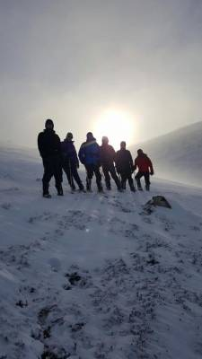 3 Busy and snowy half term #winterskills #ski touring # climbing # courses #introduction #cairngorms #scotland