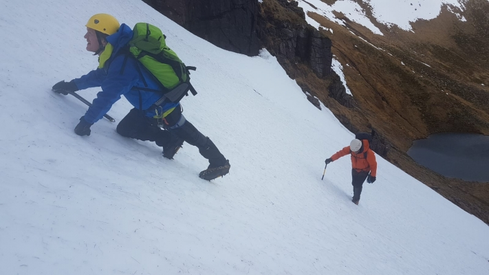 5 Wintry conditions in the Cairngorms #winterskills #winterclimbing #wintermountaineering