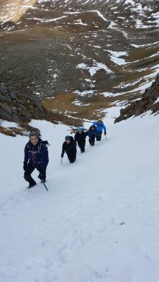 1 Lots of Winter Skills & Mountaineering #winterskills #climbing #courses #introduction #cairngorms #Scotland
