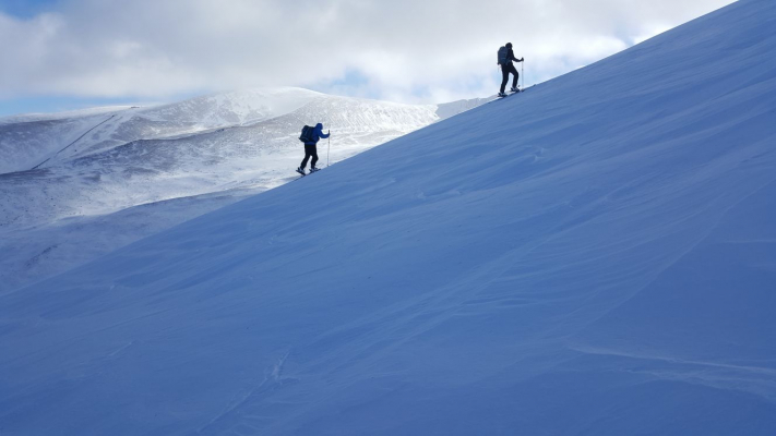 6 Lots of snow in the Cairngorms #winterskills #skitouring #wintermountaineering #winterclimbing