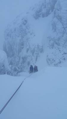 4 Busy and snowy half term #winterskills #ski touring # climbing # courses #introduction #cairngorms #scotland