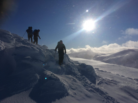 11 Lots of snow in the Cairngorms #winterskills #skitouring #wintermountaineering #winterclimbing