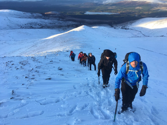 2 Happy New Year! (Winter Climbing Cairngorms & Avalanche Training)
