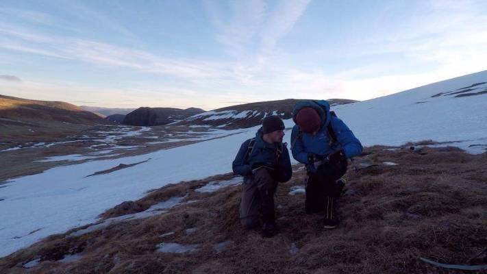 3 Alpine conditions #winterskills #winter mountaineering #climbing #cairngorms