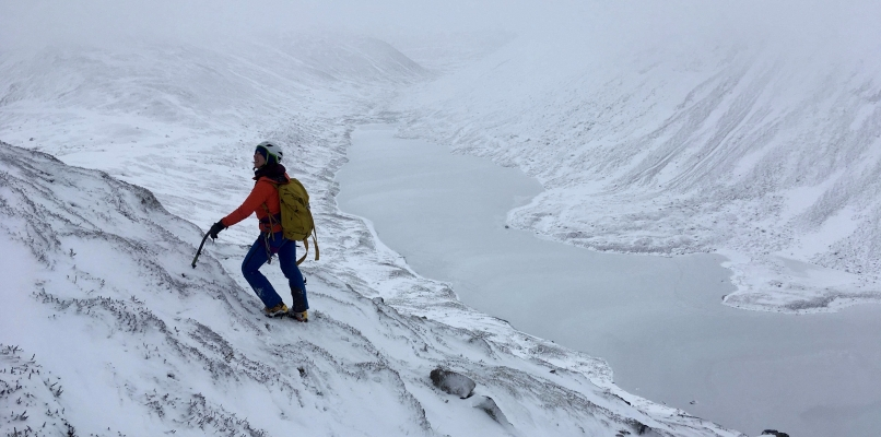 9 Winter arrives just in time #winterskills #winterclimbing #skitouring
