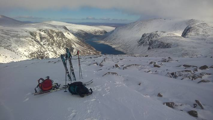 12 Great conditions in the 'Gorms (at last) #winterskills #ski touring #climbing #courses #introduction #cairngorms #Scotland