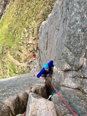 5 Rock climbing, film safety & broken arms in the Cairngorms